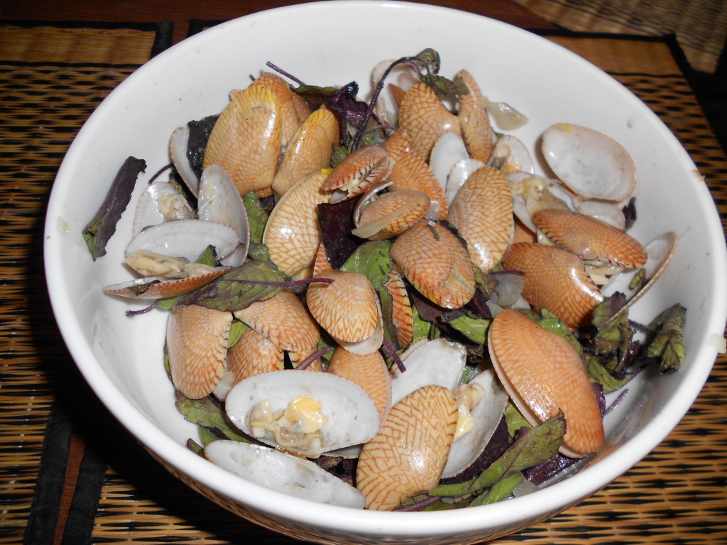 Moules au basilic thai sucré