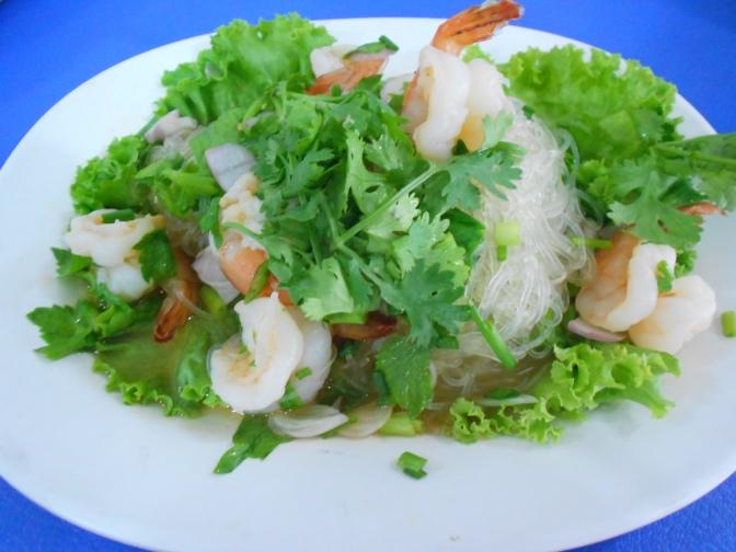 Salade de vermicelles សាឡាត់នំបញ្ចុក